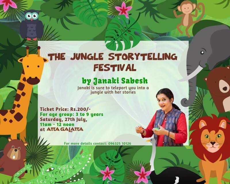 The Jungle Storytelling Festival Cover Image