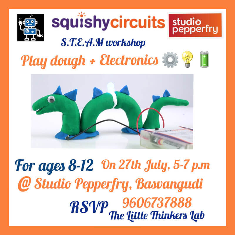 Squishy Circuits by The Little Thinkers Lab Cover Image