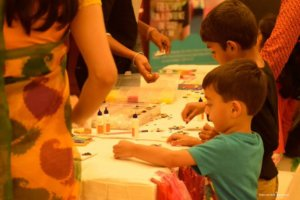 Kids Fun Zone at Candy Bazar