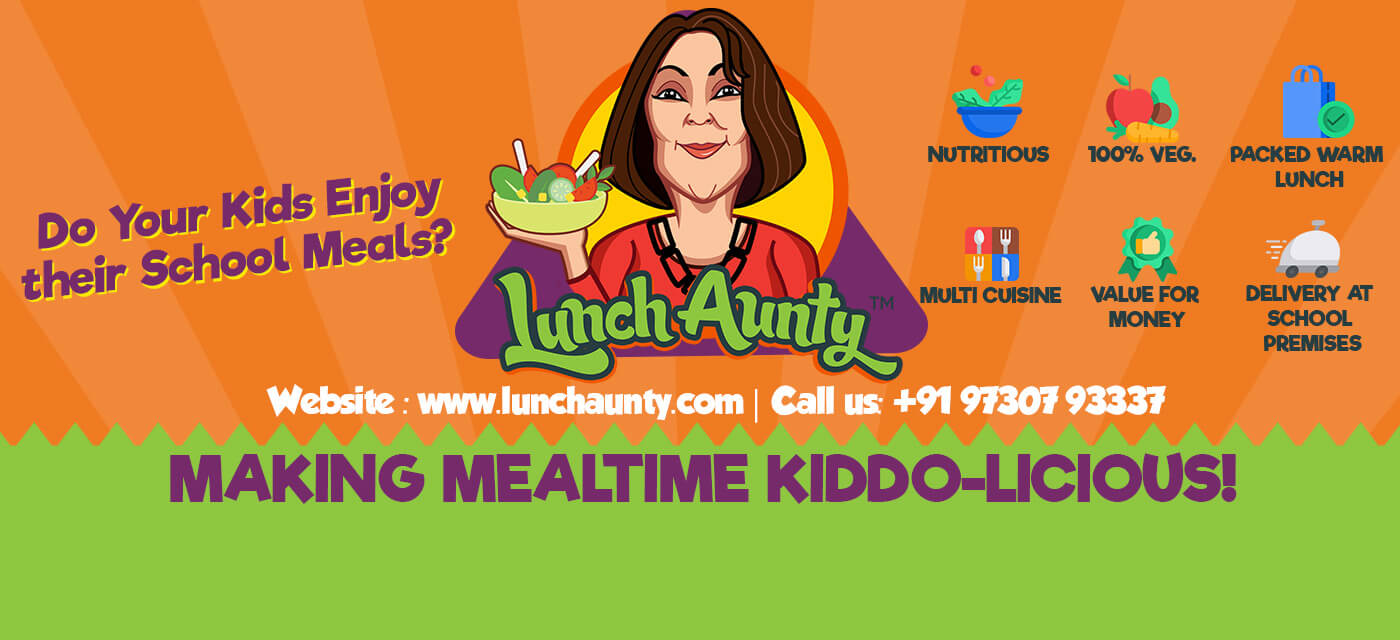 School lunch box made easy with Lunch Aunty! Cover Image