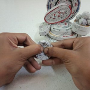 Paper Ganesha Hand