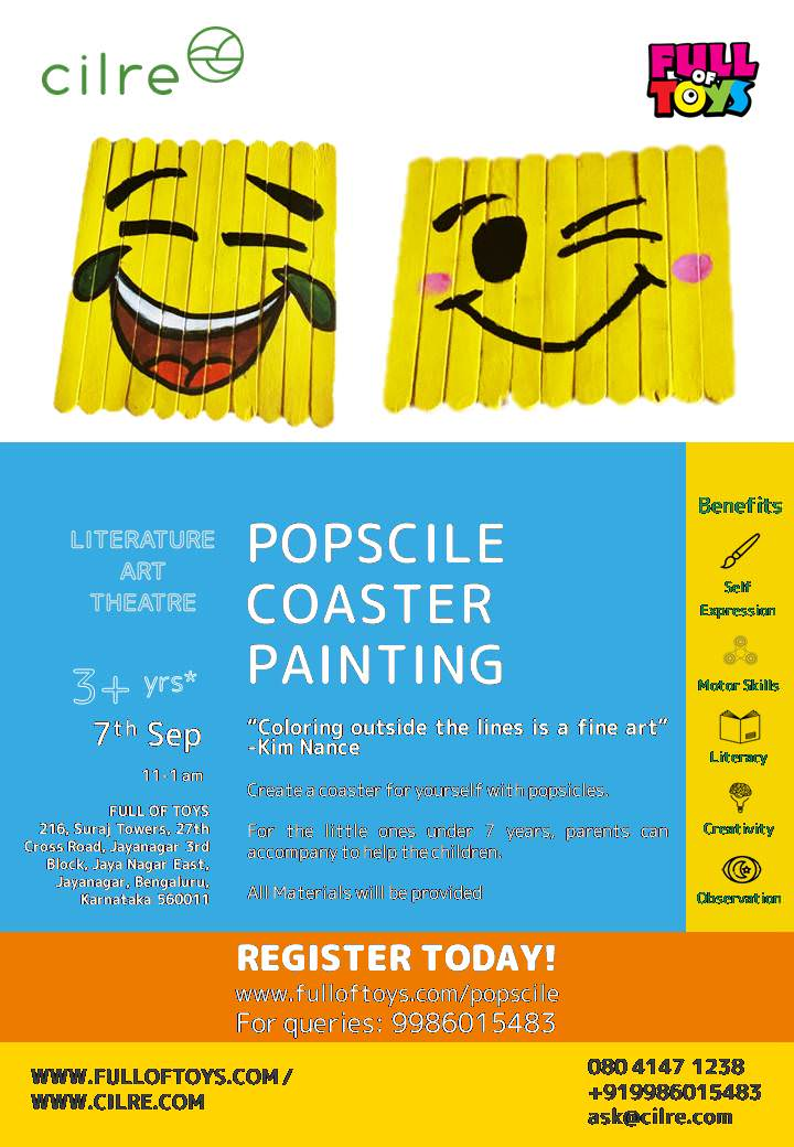 Things to do with Kids in Bangalore this weekend, September