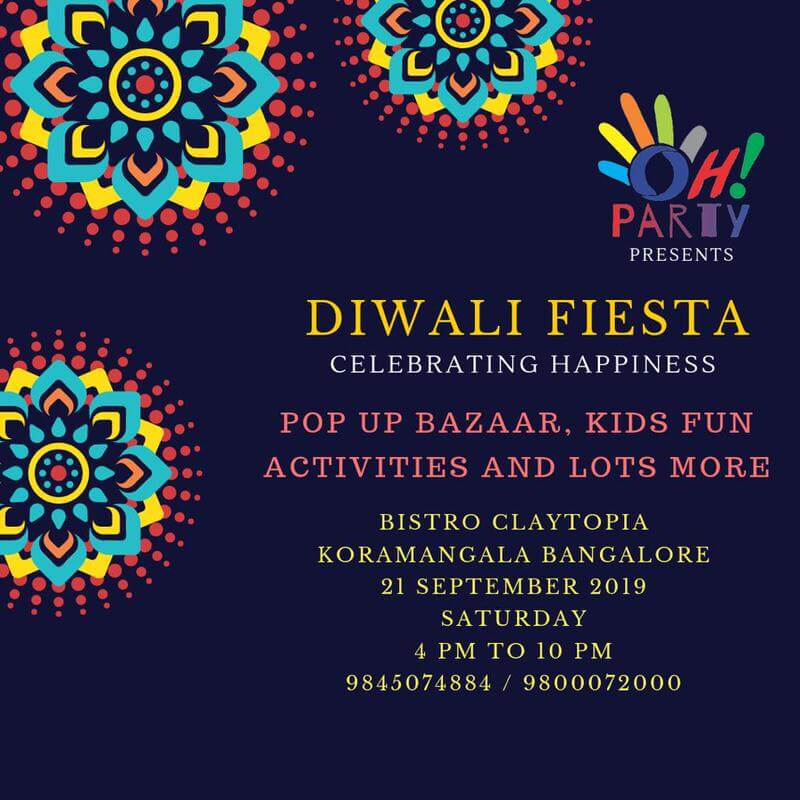 Diwali Fiesta by Oh Party! Cover Image