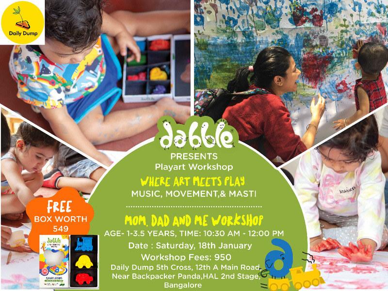 Dabble Playart Parent Child Workshop Cover Image
