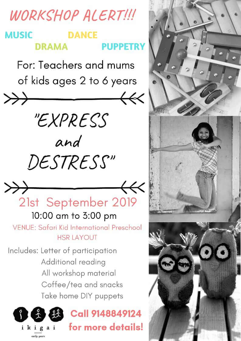 Express and Destress Workshop Cover Image