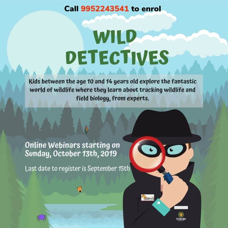 Wild Detectives: Online Course for Kids Cover Image