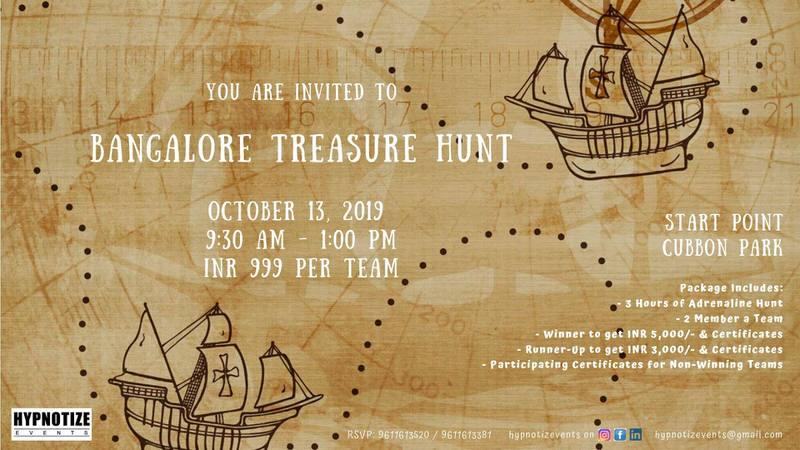 Bangalore Treasure Hunt Cover Image