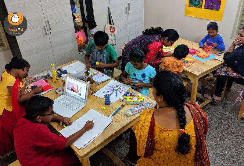 Brainart Creative Art Hub Hsr Layout Bangalore