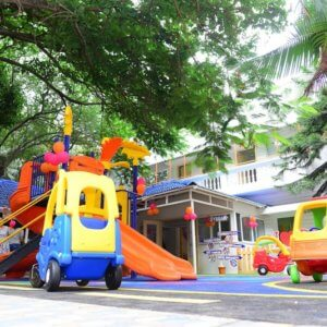 Outdoor Playarea at Kara4Kids Koramangala