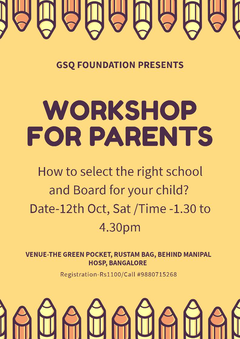 Young Parents Workshop Cover Image