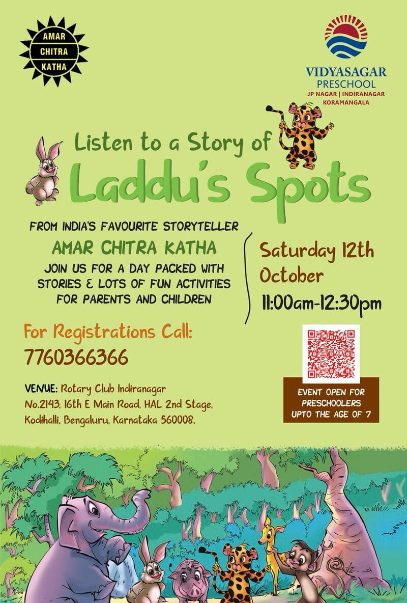 Laddu's Spots: Storytelling Session Cover Image