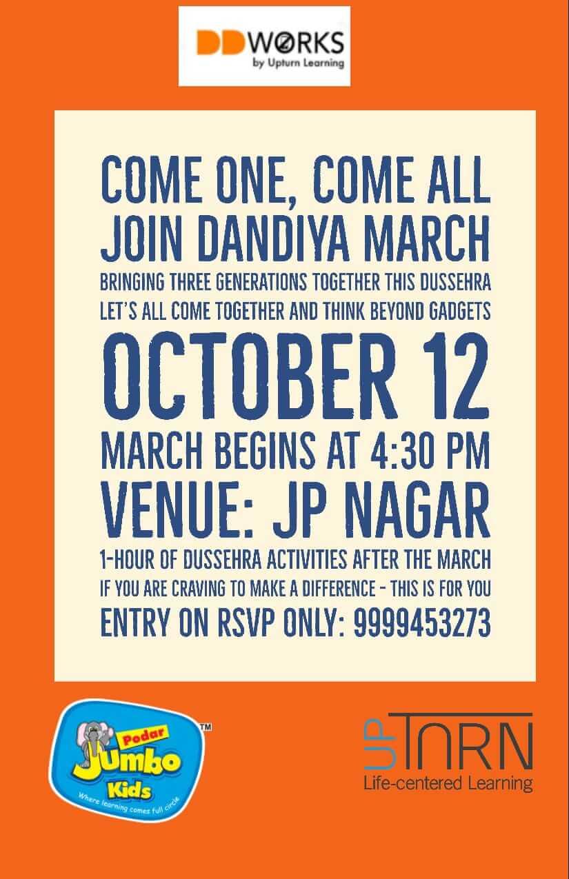 Dandiya March & Dussehra Activities Cover Image