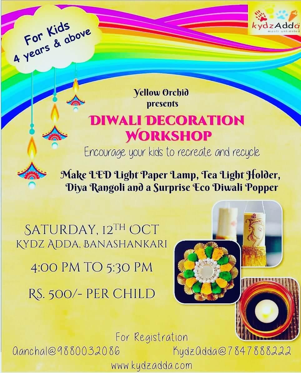 Diwali Decoration Workshop Cover Image