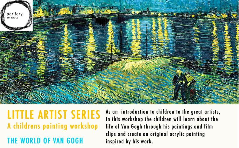 Little Artist Series – Children's Painting Workshop Cover Image