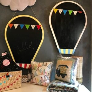 Chalk Boards at Once Upon a Time Kids Furnishing Store