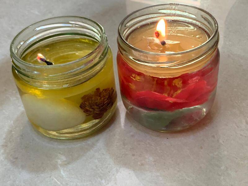 DIY Floating Candles is ready to use.