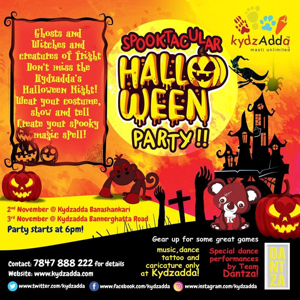 KydzAdda Halloween Party Cover Image
