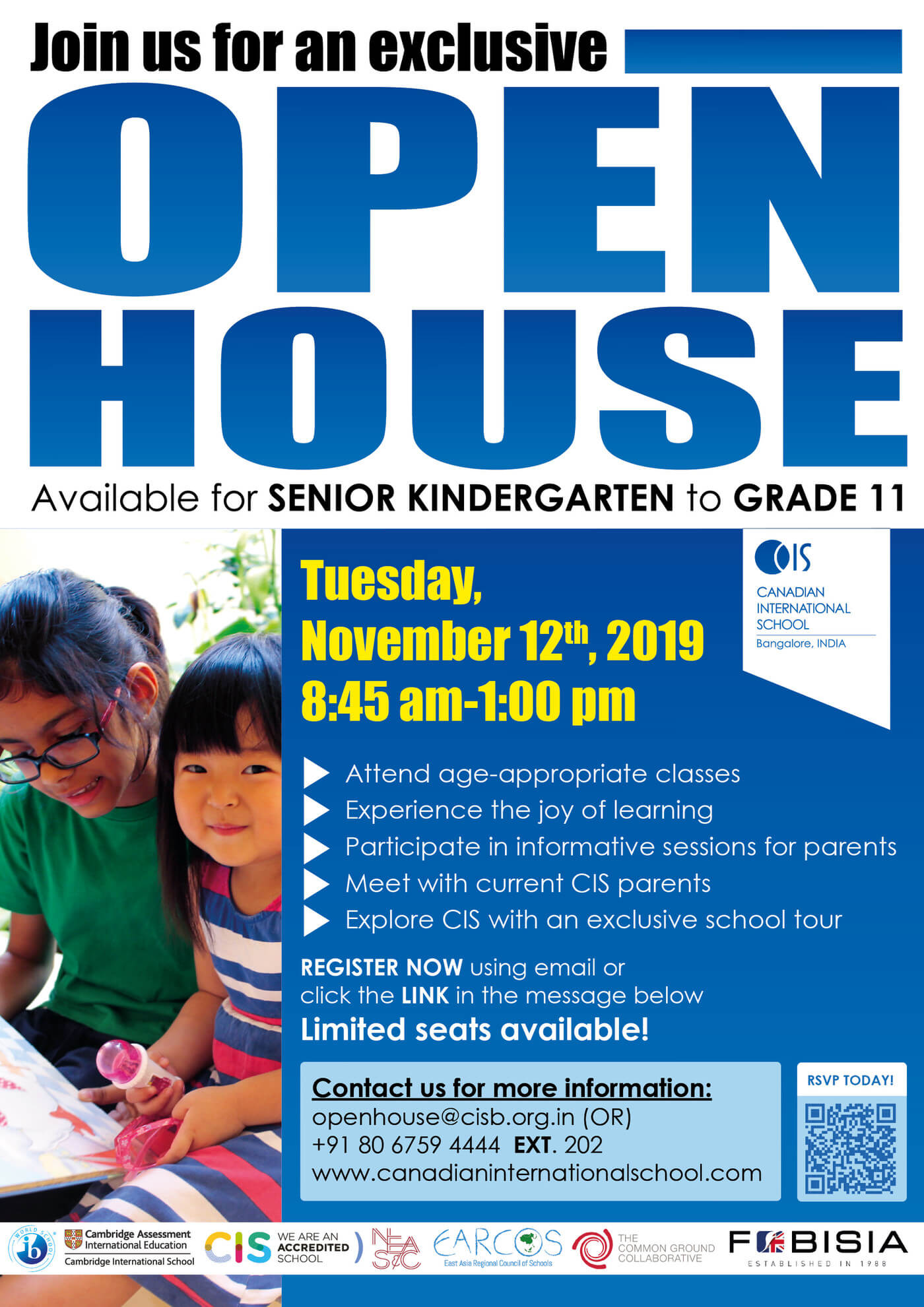 Open House at Canadian International School Cover Image