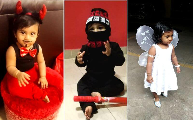 Little Devil, Ninja & Pretty Fairy DIY Halloween Costume