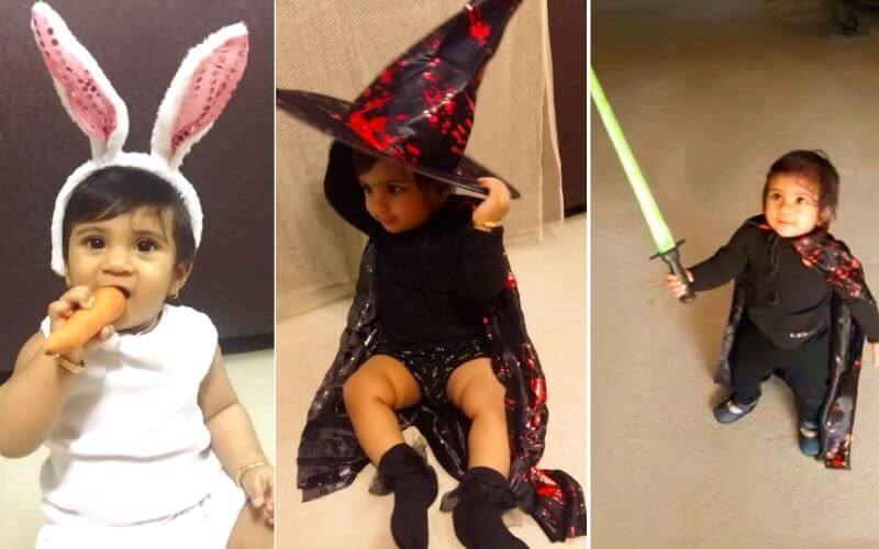 Bunny, Witch or Warrior DIY Halloween Costume