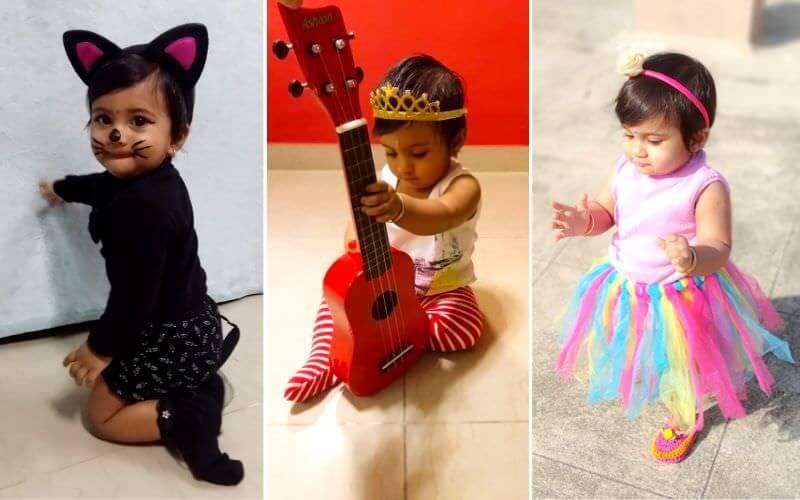 Little Cattitute, Rockstar, Ballerina DIY Halloween Costume