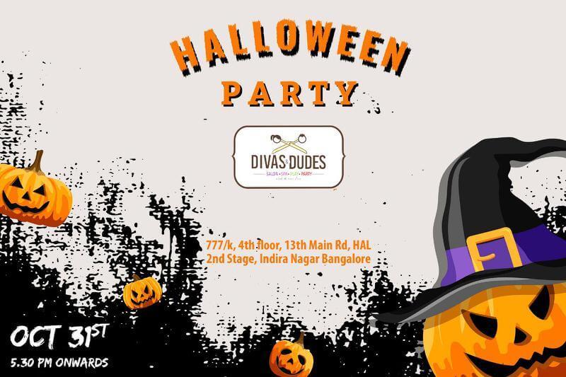 Divas Halloween Bash Cover Image