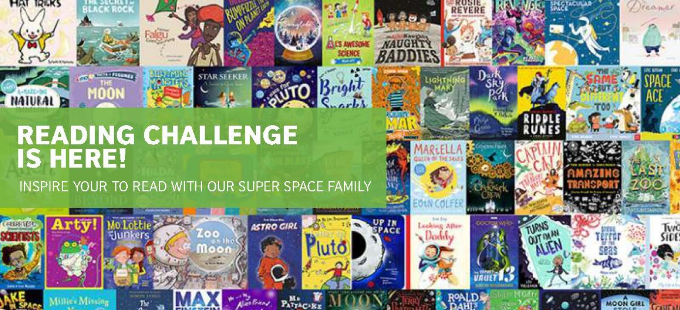 Become a reading champ with British Council's Reading Challenge! Cover Image