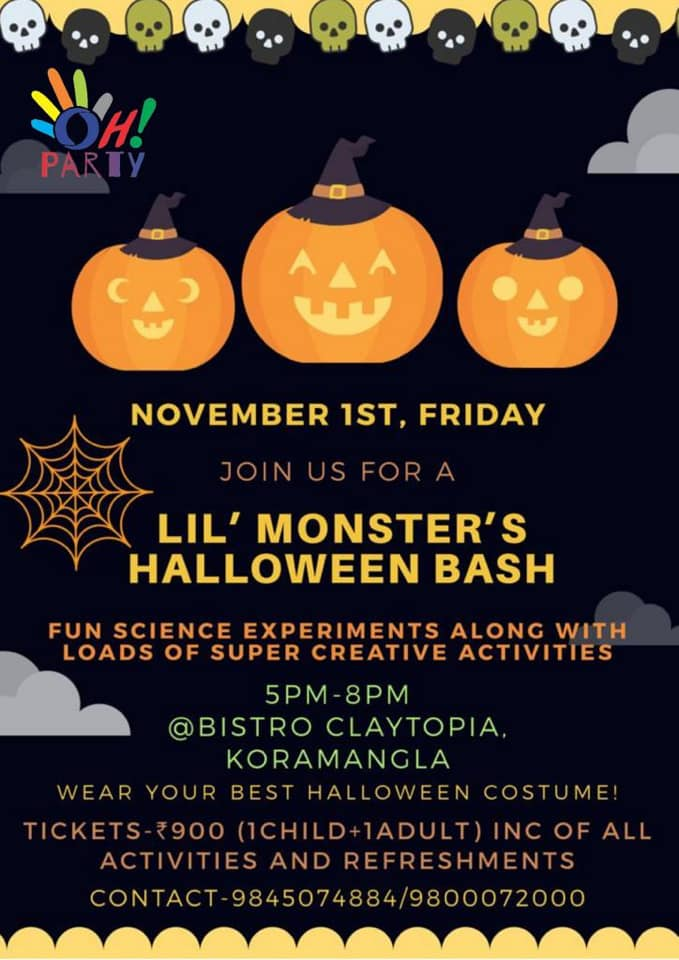 Lil' Monster's Halloween Bash Cover Image