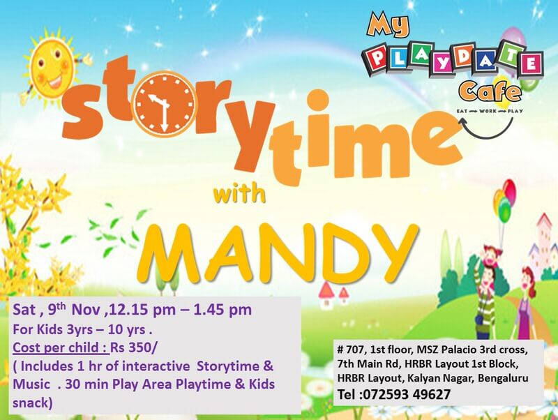 Storytime with Mandy Cover Image