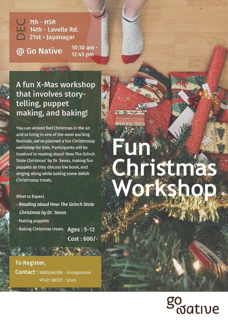 A Fun Christmas Workshop Cover Image