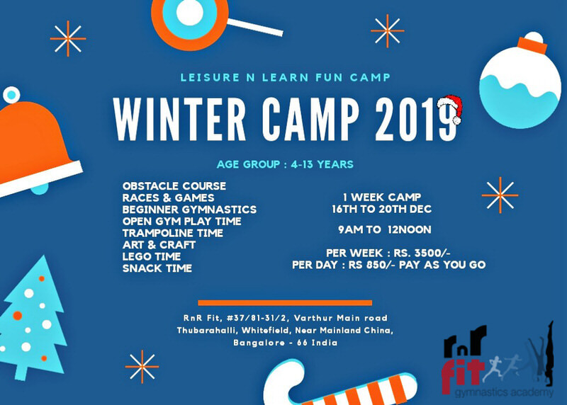 RnRFit Winter Camp 2019 Cover Image