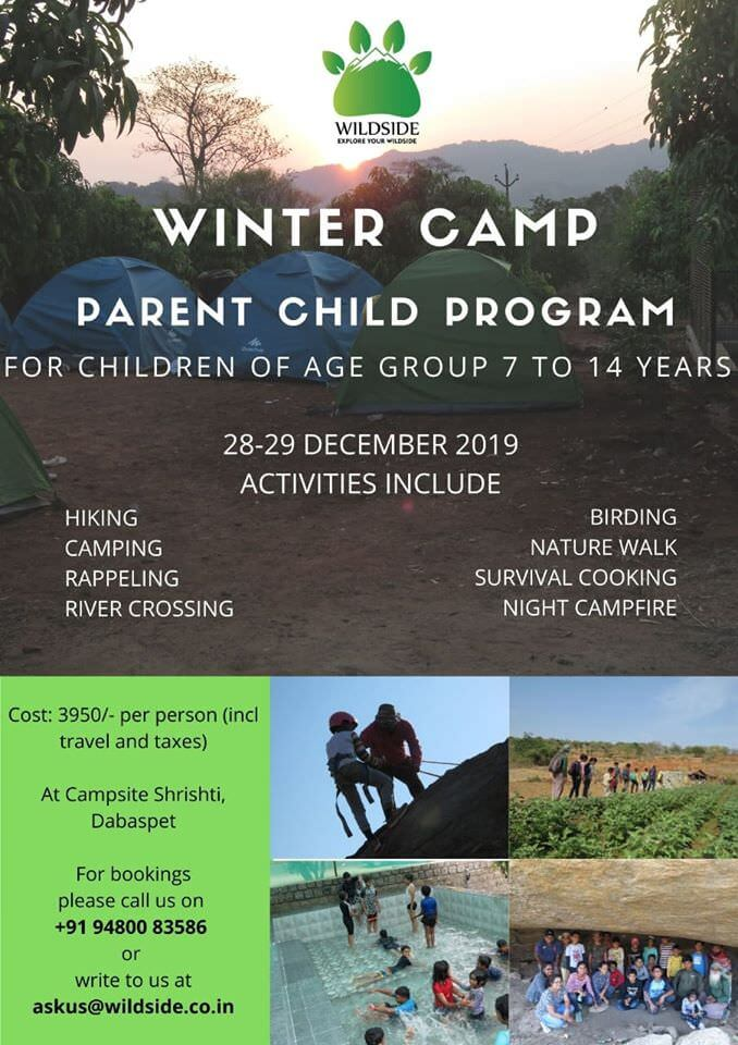 Wildside Winter Camp – Parent Child Program Cover Image