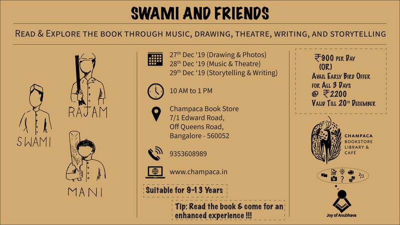 Exploring R.K.Narayan's Swami and Friends Cover Image