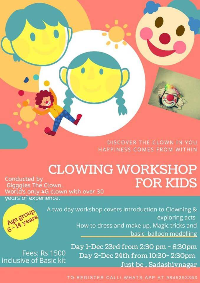 Clowning Workshop for Kids Cover Image
