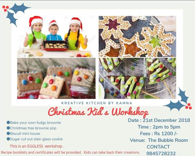 Kids Christmas Baking Workshop Cover Image