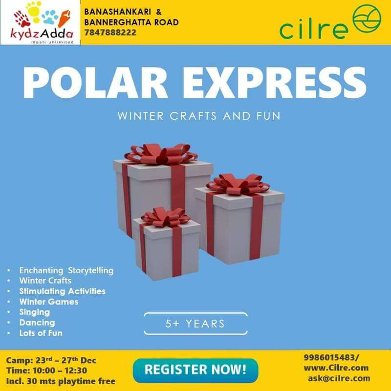 Polar Express Winter Camp Cover Image