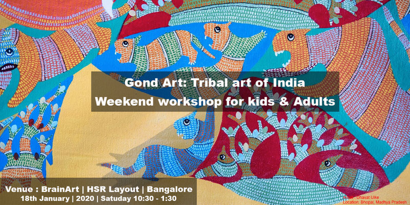 Gond Art Workshop for Kids Cover Image