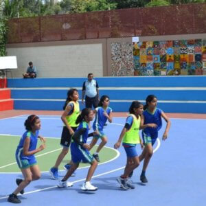Kids playing sport at The Legacy School