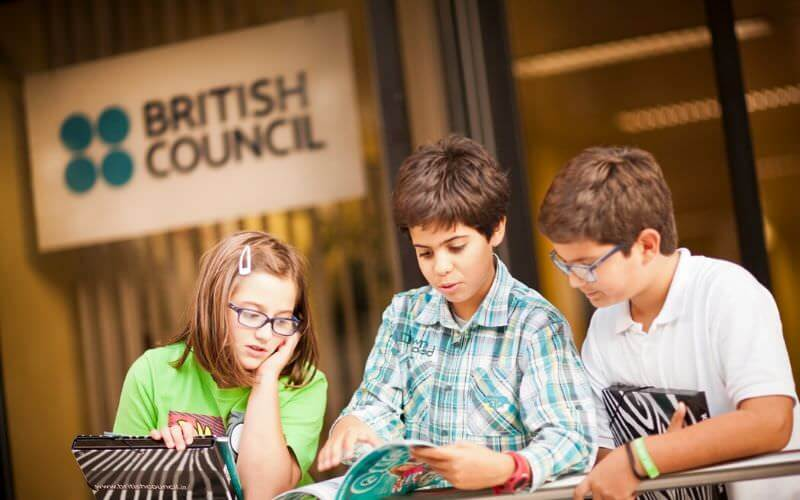 Students at British Council