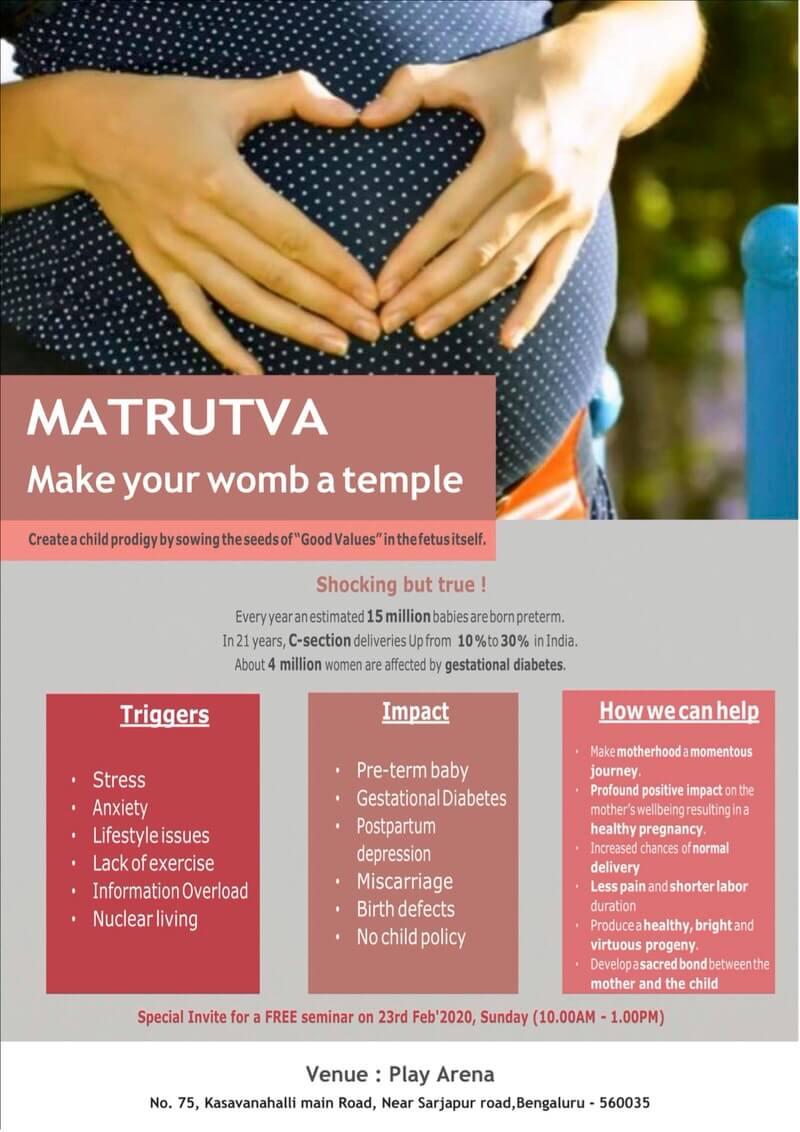 Matrutva Introductory Seminar Cover Image