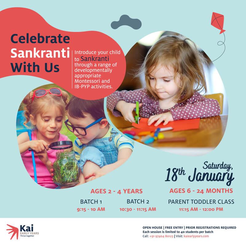 Celebrate Sankranti at Kai Early Years Cover Image