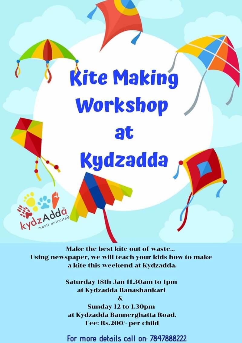 Kite Making Workshop Cover Image