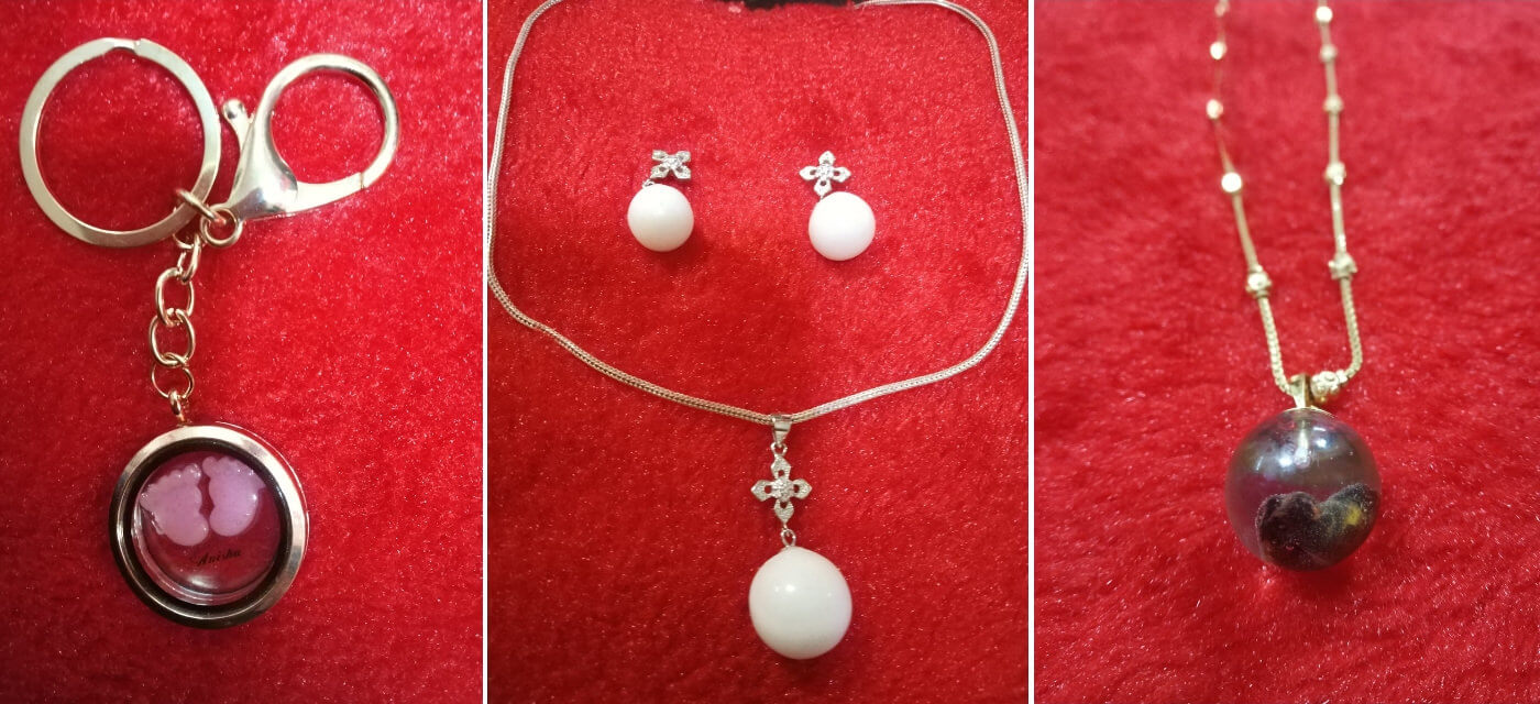 Breastmilk Jewellery: A keepsake, for life! Cover Image