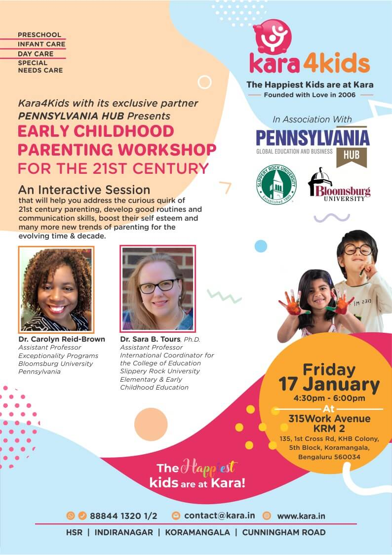 Early Childhood Parenting Workshop Cover Image