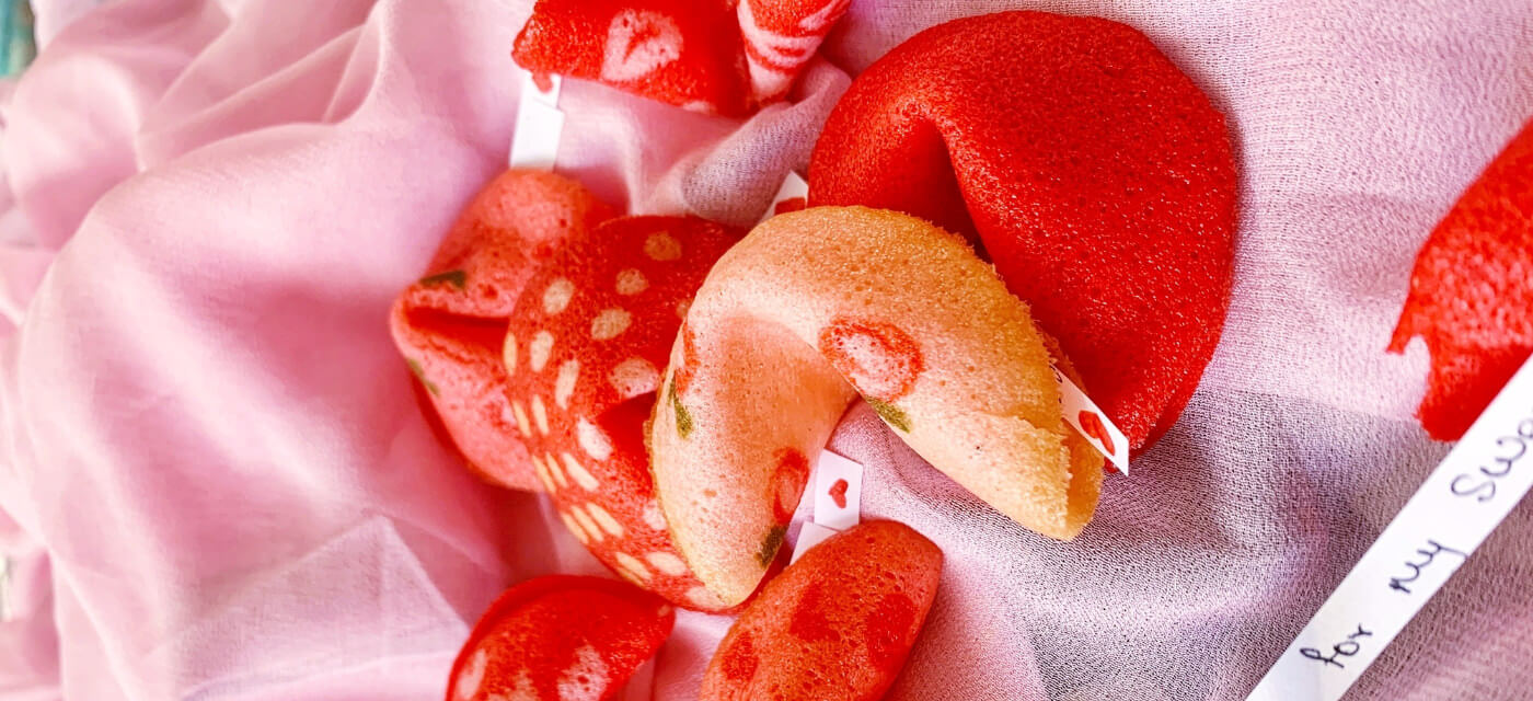 Valentine's Day fortune cookies that will be a treat for everyone! Cover Image