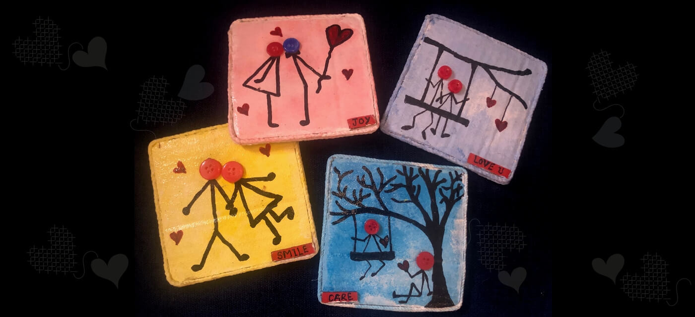 Recycled DIY Coasters that are perfect for your home! Cover Image