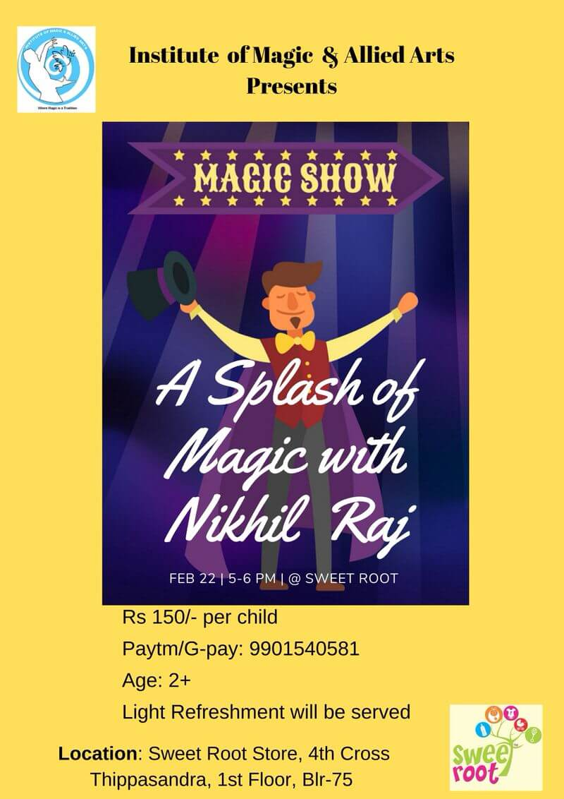Magic Show with Nikhil Raj Cover Image