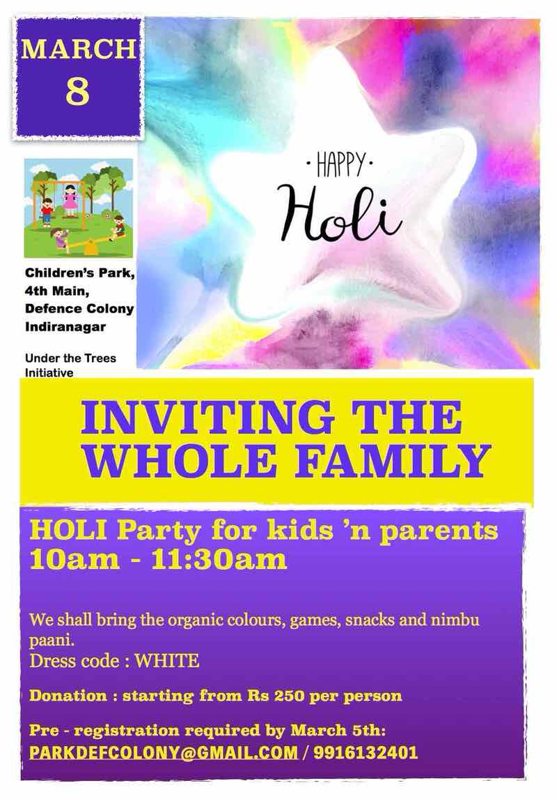 Family Holi Party Cover Image