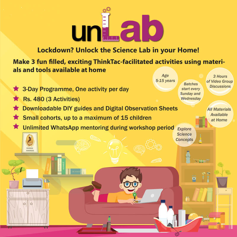 unLab Online Science Workshops Cover Image