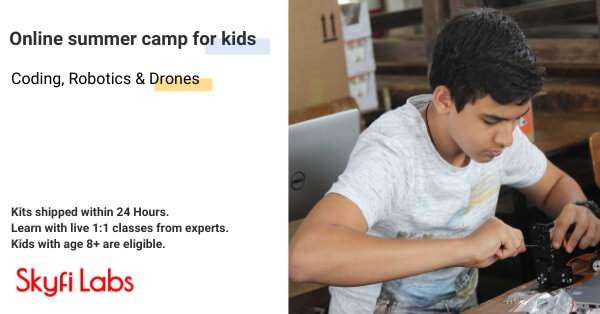 Drones Online Summer Camp for Kids Cover Image